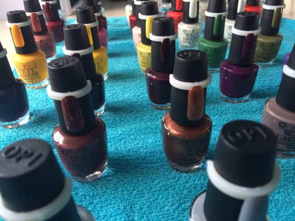 Brand selection - what am I using and why? - O.P.I. Nail polish
